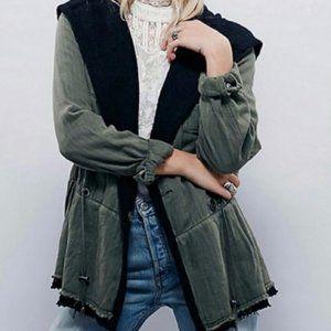 Free People Cargo styled jacket